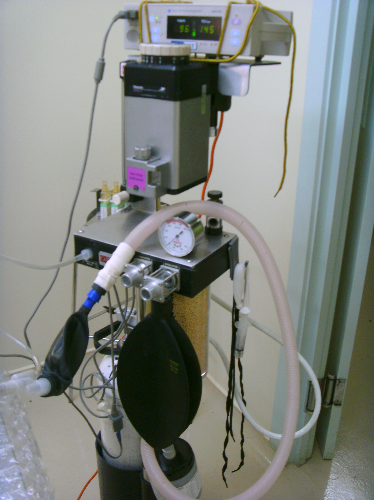 Our anaesthetic machine